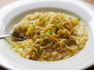 fenchel risotto