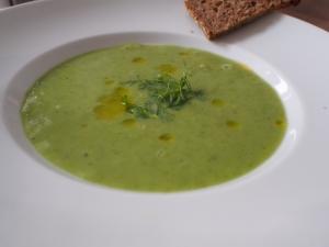suppe erbsen fenchel